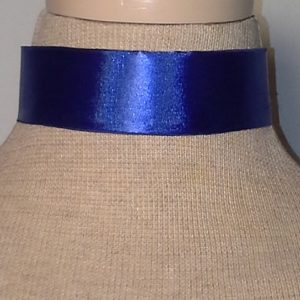 Choker_-_Royal_Blue
