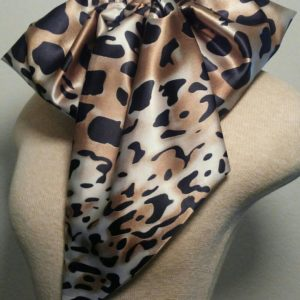 FCN - Black and Taupe Animal Print