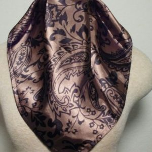 Ascot - Brown and Black Paisley