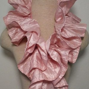 Ruffle Collar - Light Pink 3