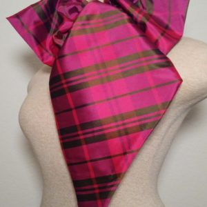 FCN - Hot Pink and Olive Plaid
