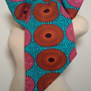 FCN - Pink Brown Turquoise