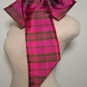 SN - Hot Pink and Olive Plaid